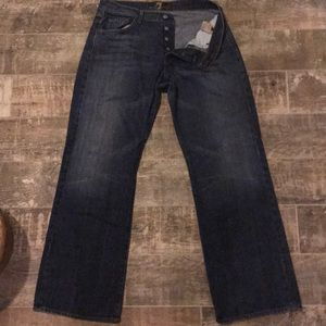 7 For all mankind relax jeans 34x32